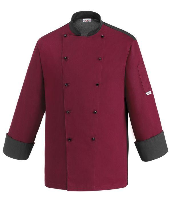 € 51,00 - Chaqueta Cocina 104044 Color Burdeos EGOCHEF