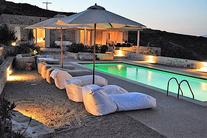 Patmos Luxury Villa with a private swimming pool