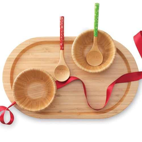 Bamboo!! Great for parties!
