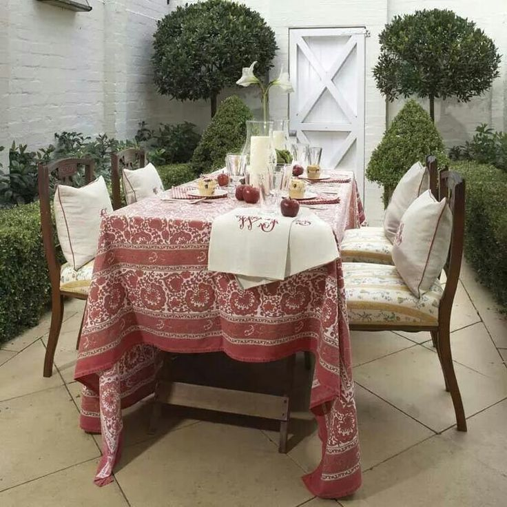 Taking your indoors furniture outdoors
