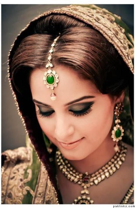 Maang tikka, hairstyle, necklace, Indian bridal jewelry