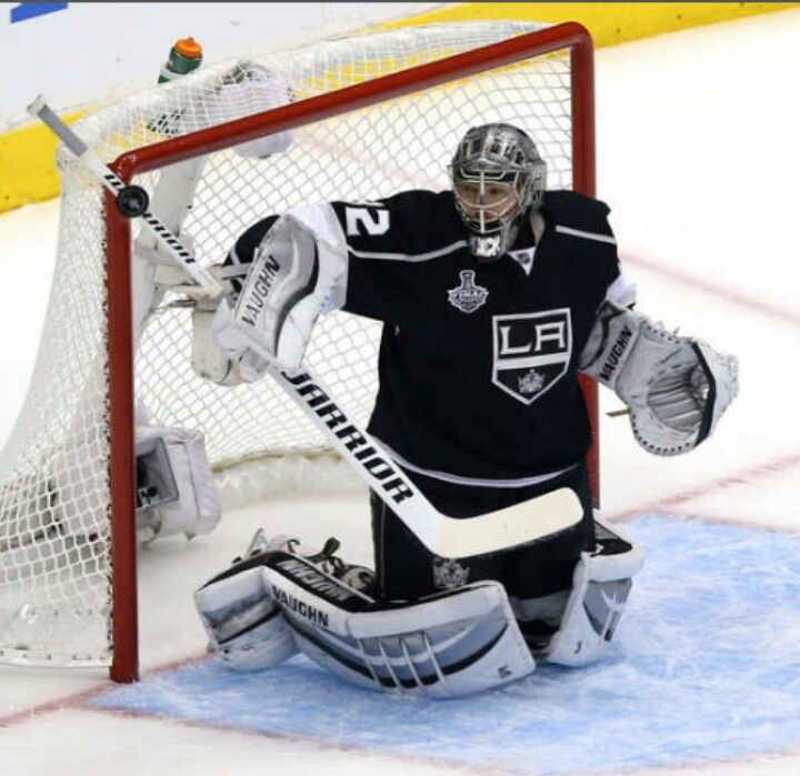 Jonathan Quick During Game 5 Of The 2014 Stanley Cup Finals CupStanley