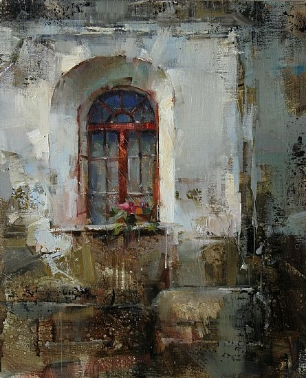 Finalist Award Sponsor: RayMar Art Layers by Tibor Nagy Oil 14 x 11 Entered in: 6th Annual Competition Month #3 - February 2012 http://nagytibor.com Judges Comments: This is what I call yummy paint...the textural quality and spontaneity of the paint application coupled with precise draftsmanship of the architecture make a visually interesting painting . I am pulled into the focal point through the aesthetic choices that the artist made ; bringing life to this static subject and in a sense