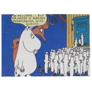 Moomin Postcard: Hattifatteners
