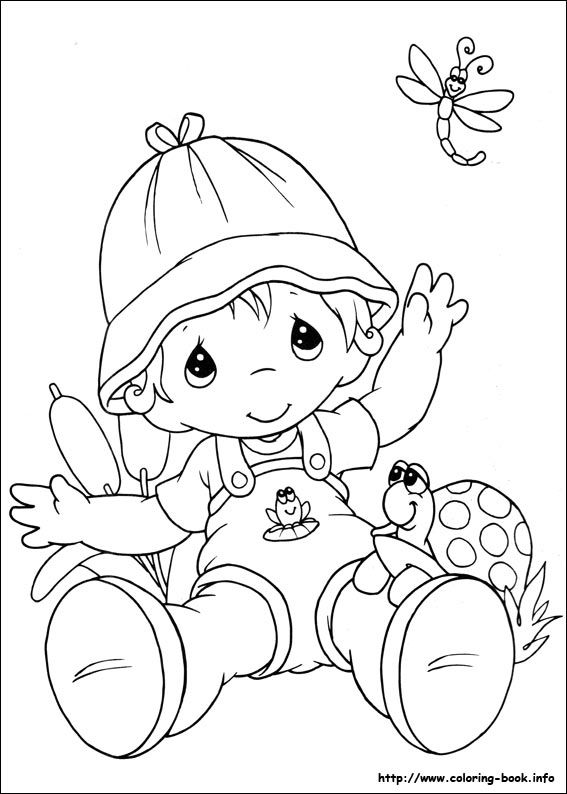 free precious moment coloring pages - photo#35