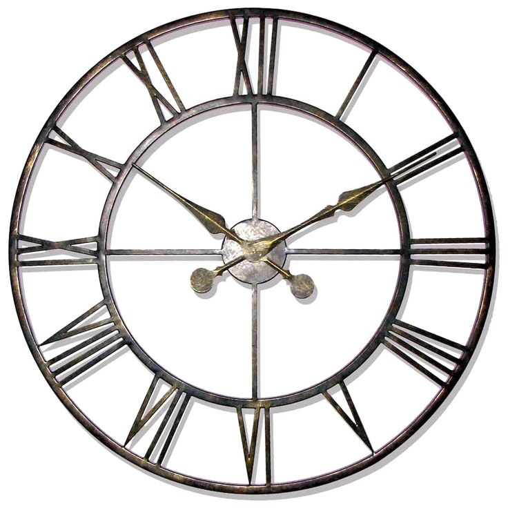 25 best ideas about large wall clocks on pinterest big Oversized metal wall clocks