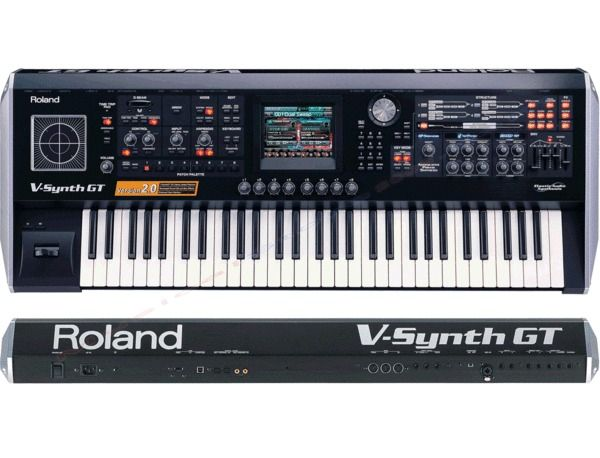 Roland V-Synth GT Elastic Audio Synthesizer Reviews & Prices | Equipboard®
