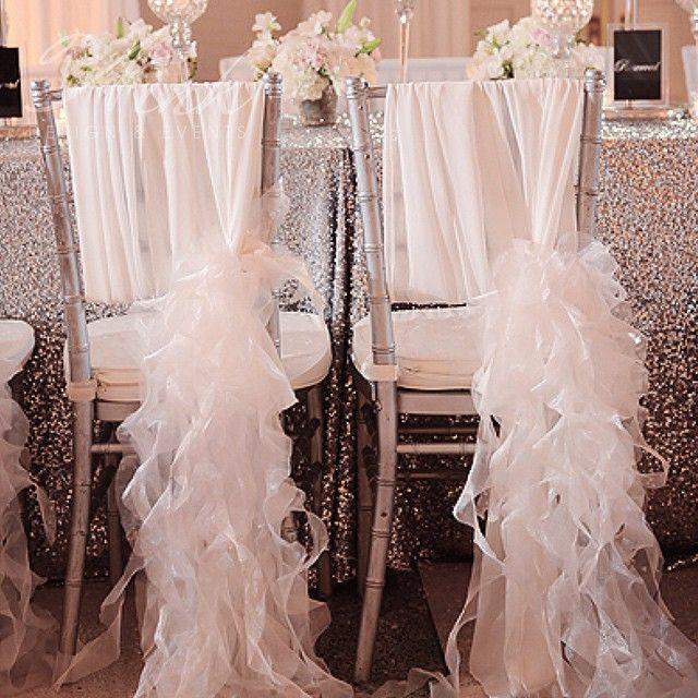 41 best wedding chair decor images on pinterest wedding