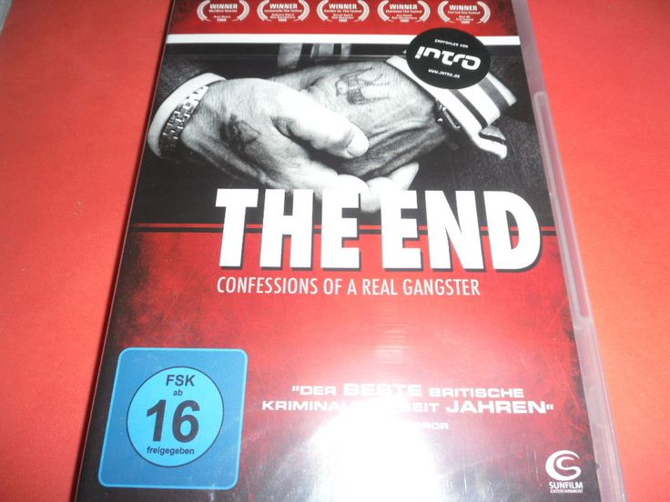 The End - Confessions of a Real Gangster   OVP/NEU