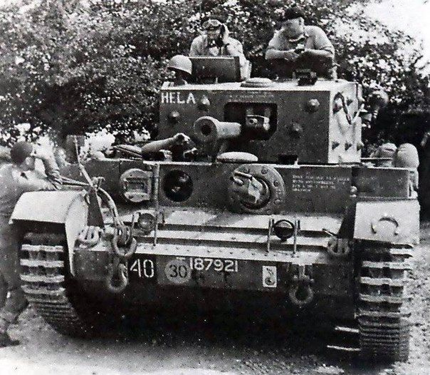 Command Cromwell IV OP, which served as command post to the commander of the 1st Polish armored division of General Stanislaw Macek. Normandy, summer 1944.