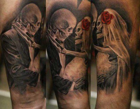 Татуировки 3 - ох мастеров, на тему готическую конечно как я люблю ! гляньте....