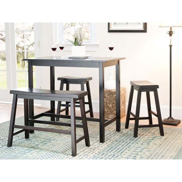 The Bistro Pub 4 Piece Set Is Perfect For Anyone That Wants To Add A Clean  Yet Stylish Counter Table Set To Any Dining Area. This 4 Piece Counter  Height Set ...