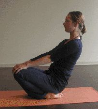 Yin Yoga Pose Ankle Stretch