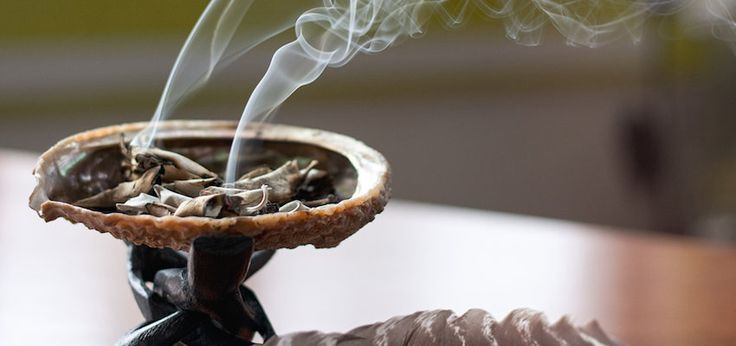 "Whenever I burn sage (aka smudging) at my yoga studio before a session, I've heard comments like: ""It smells like weed in here!"" Or, ""What smells like barbecue?"" And then there's my all time"