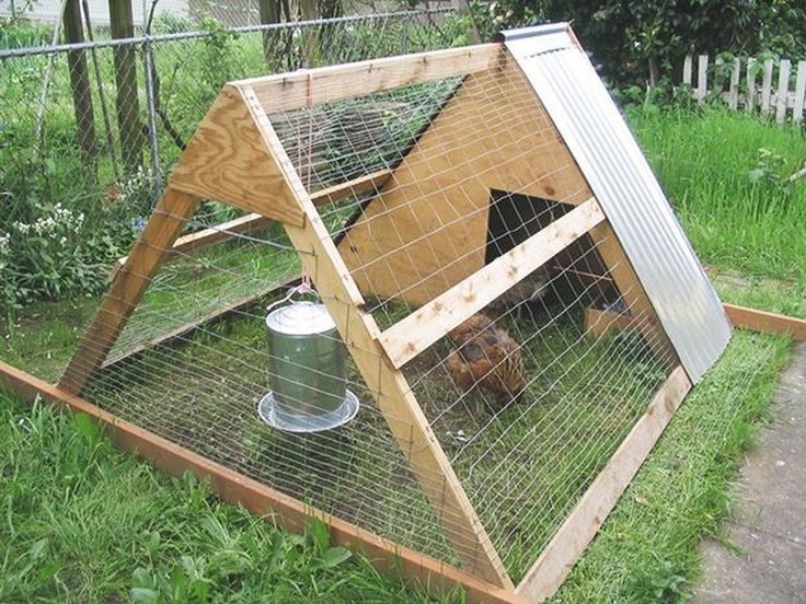 1491 best Building A Chicken Coop images on Pinterest | Backyard ...