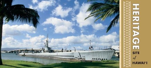 Pearl Harbor, named for the pearl oysters once harvested there, is the largest natural harbor in Hawaii, a World War II Valor in the Pacific National Monument and the only naval base in the United States to be designated a National Historical Landmark.