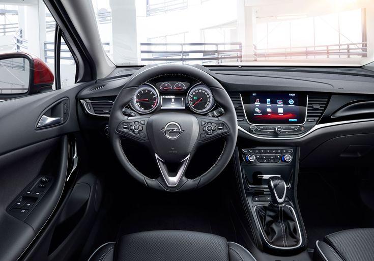 2016 Opel Astra - Interior
