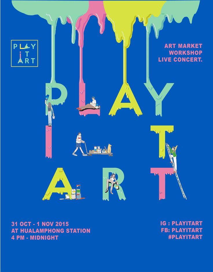 play it art #poster