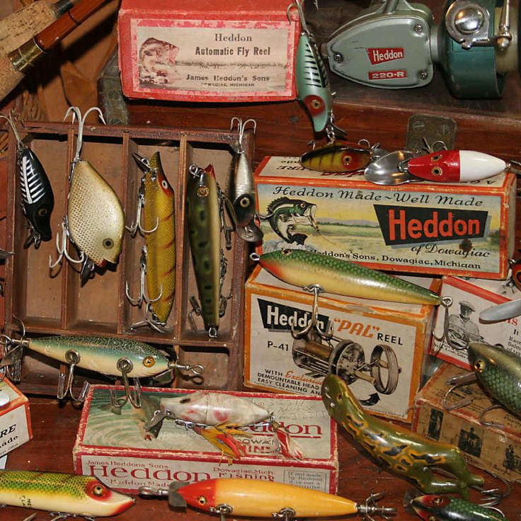 """Antique Fishing Lures:  Before you start collecting, it is important to understand and identify lures. There are two very good all purpose books on the market. One by Carl Luckey called """"Old Fishing Lures"""" and another by Karl White called """"Fishing Tackle"""". I would start by getting these two books, and also checking the internet on sites like """"Joes old Lures"""". Joes, has a message board that is very active and has helpful members."""