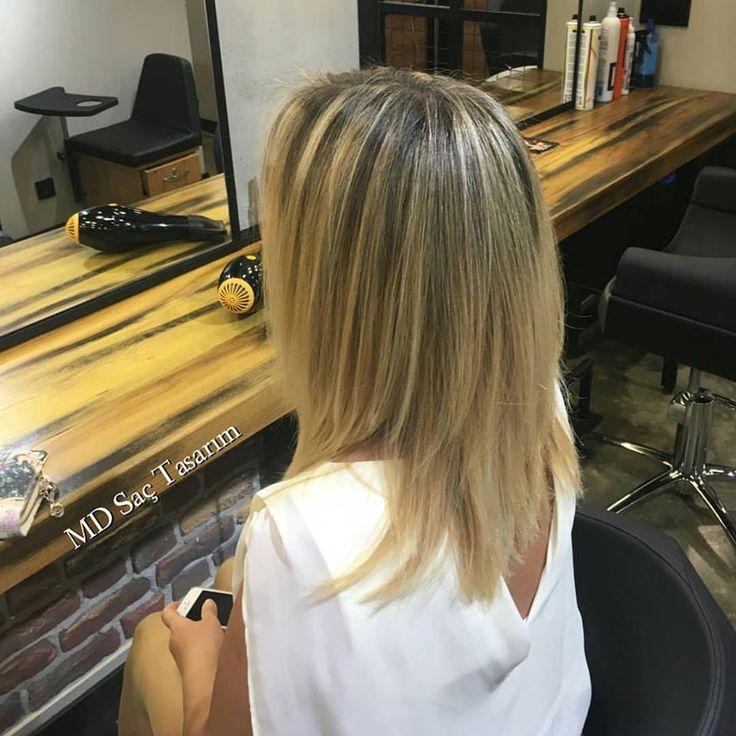 Saçlarr 💕💕💕 #balyaj #izmir #kuaför #mdsactasarim #mdsaçtasarım #hair #hairdresser #hairstylist #hairtrend #trend #lovehair
