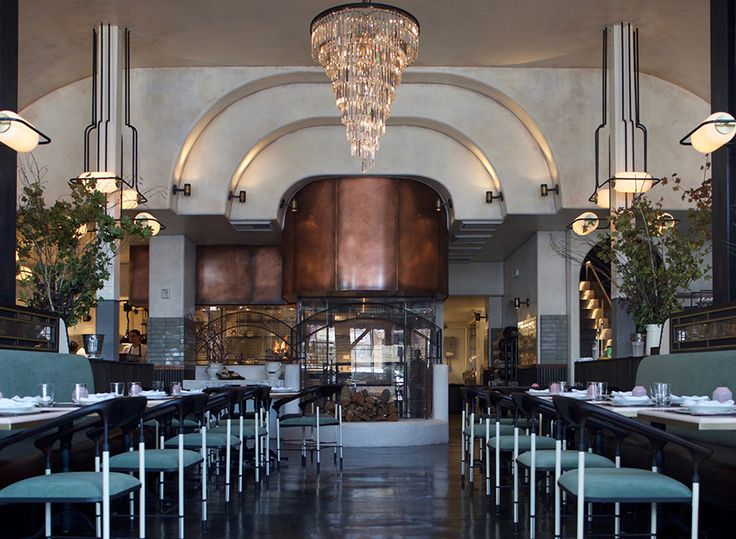 We are seeing chandeliers, marble, brass, tiled floors and plush furniture in more places now than ever before. Art Deco is coming back. Again. In LA, the new restaurant and butcher shop Gwen is following these trends, but they do have a legitimate reason to feature these elements. It is housed in a 1928 building …