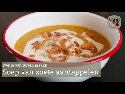 Zoete Aardappelsoep van Yvette van Boven - YouTube
