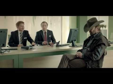 Celebrity endorsement! The polish based Bank Zachodni WBK uses Chuck Norris in their ad, promoting that everyone can be like Chuck Norris and get low rates.