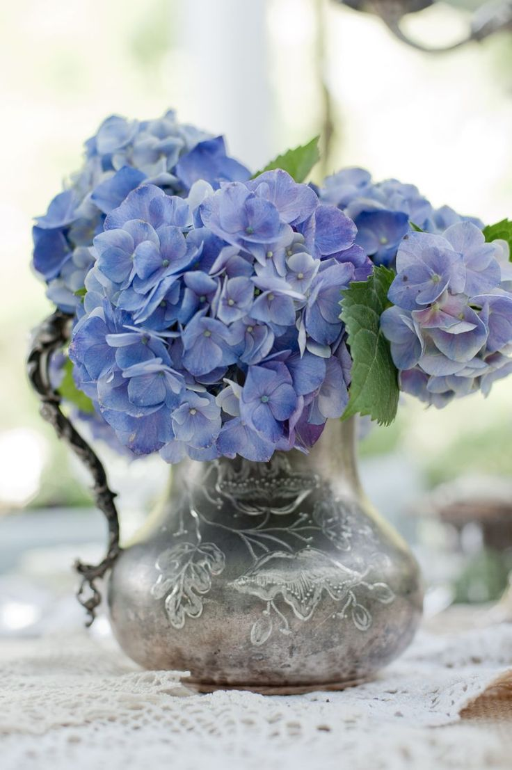Find This Pin And More On Blue Flower Arrangements Bouquets