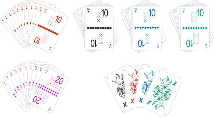 przykładowe karty duże dodawanie i odejmowanie