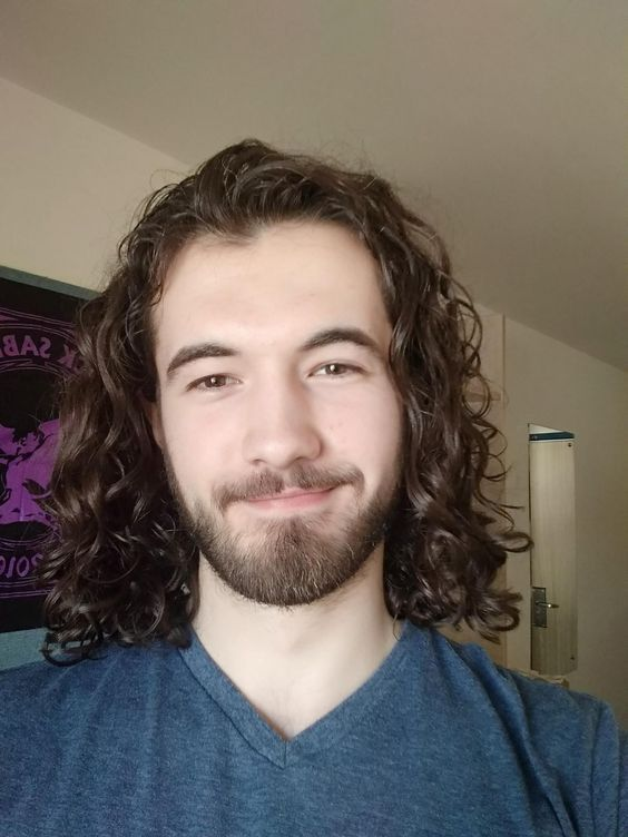 long hair men ideas