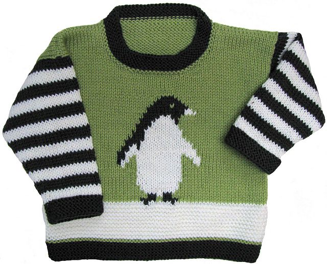 Ravelry: Penguin Pullover pattern by Gail Pfeifle