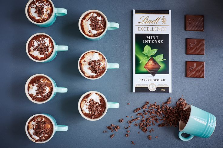 The Grasshopper - LINDT EXCELLENCE recipe crafted in collaboration with Le Creuset