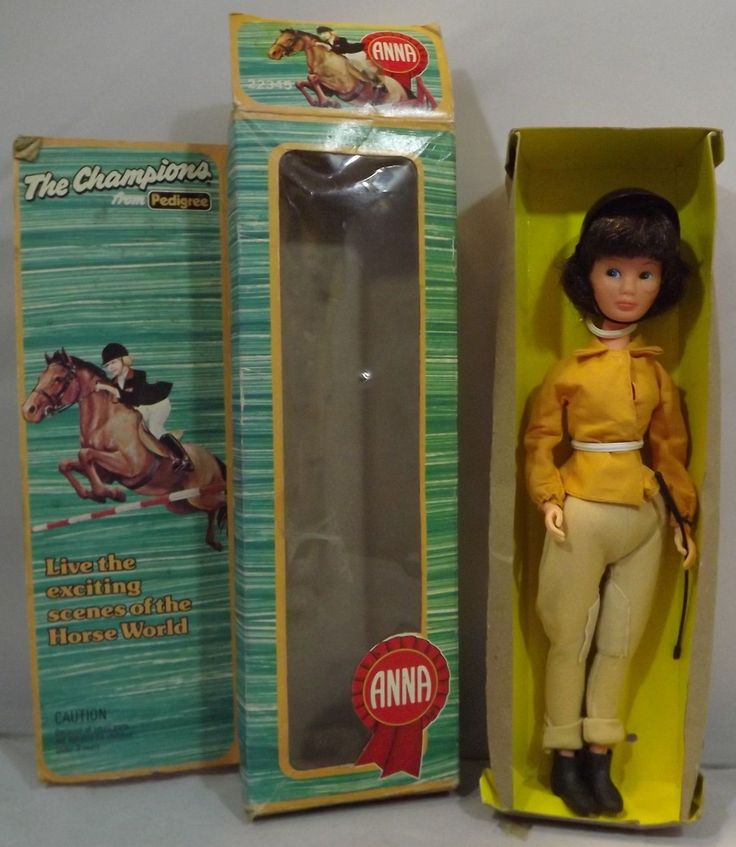 """#Vintage 1970s boxed 10"""" #pedigree anna moore 'the #champions' horse-rider doll,  View more on the LINK: http://www.zeppy.io/product/gb/2/142253571465/"""