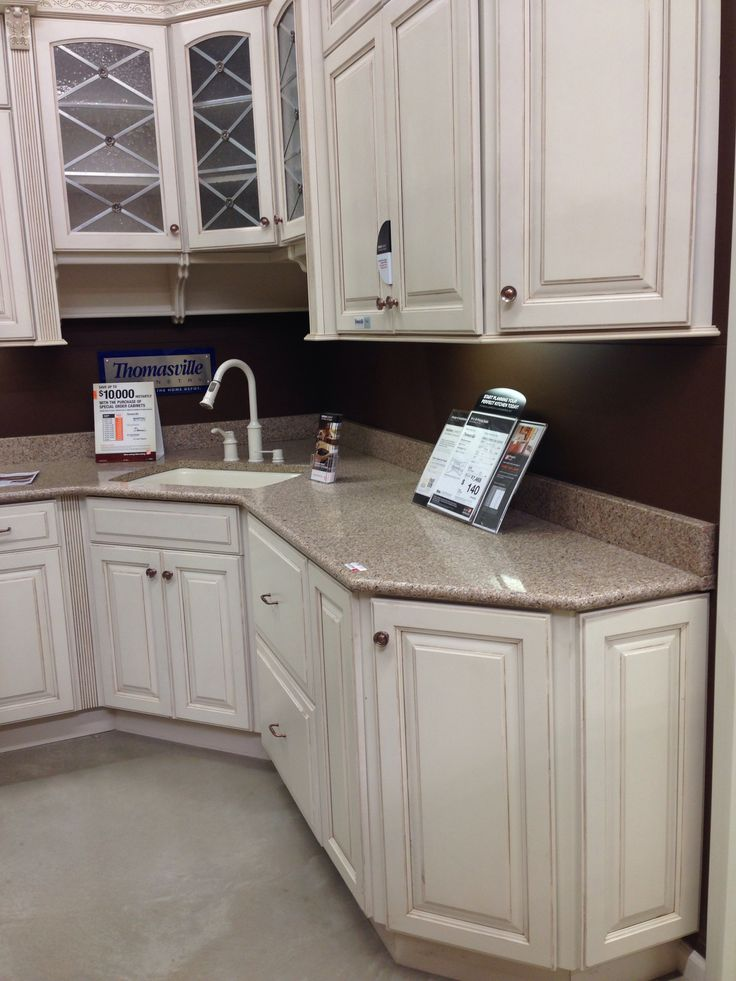 Plaza Maple Cabinet With Kona Beige Silestone Countertop