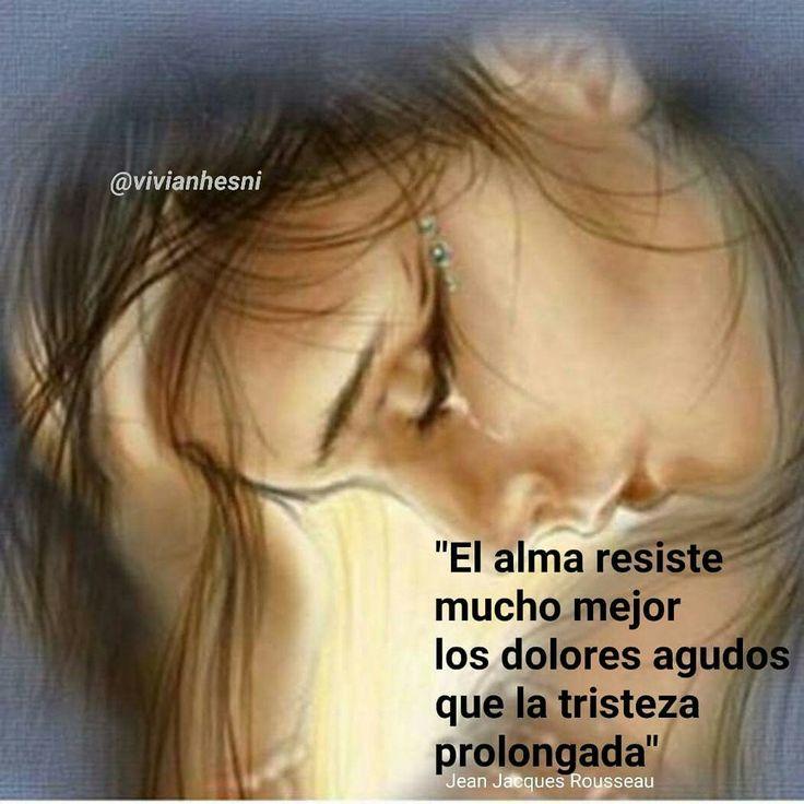 Frases, Jean Jacques Rousseau, alma, dolor, tristeza