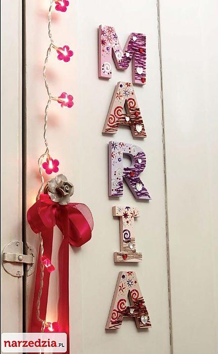 #handmade #artesania #bricolaje #dremel #letrasdecoradas http://www.rotopino.es/noticias/letras-decoradas,4447