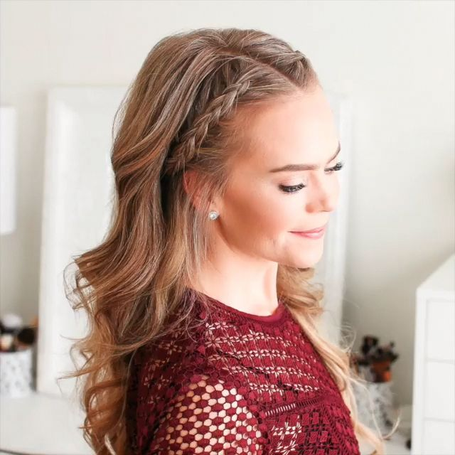 Do you wanna learn how to styling your own hair? Well, just visit our web site to seeing more amazing video tutorials! #hairtutorials #hairvideo #vide