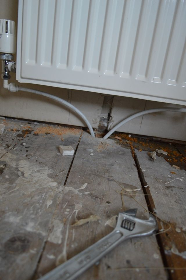 How to move a radiator