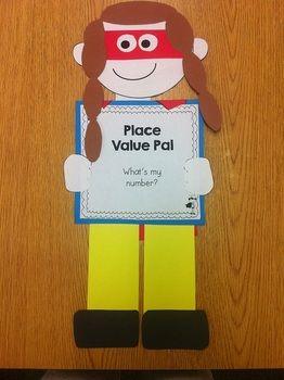 PLACE VALUE POWER ACTIVITIES AND CRAFTIVITY! {COMMON CORE ALIGNED} - TeachersPayTeachers.com