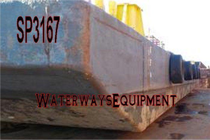 SP3167 - 110' x 50' x 7' Spud Barge For Sale