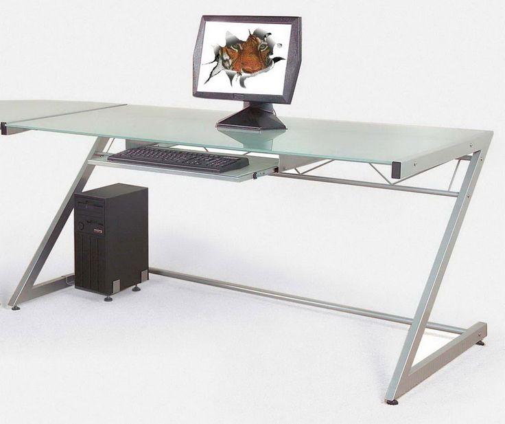 Best 25+ Simple computer desk ideas on Pinterest   Rustic computer ...