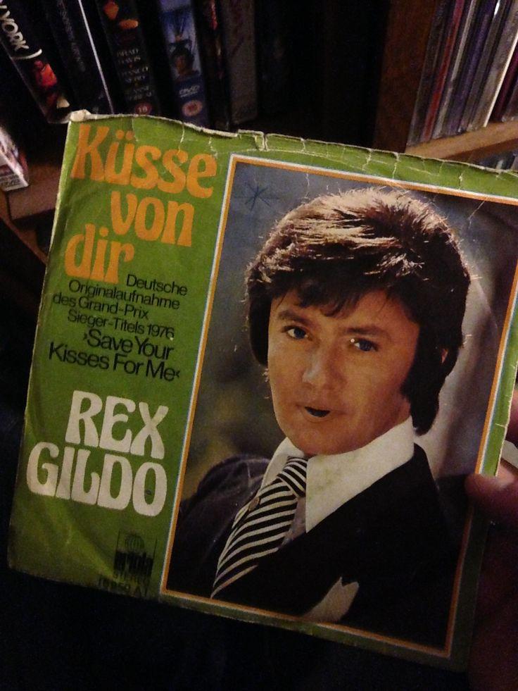 Küsse von dir. Rex gildo synger tysk version af eurovision-vinderen fra 1976
