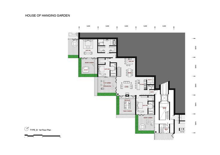Image 8 of 88 from gallery of Marine Terrace Resort / Yamasaki Ku Hong Associates Design Lab. plan 07: house of hanging garden