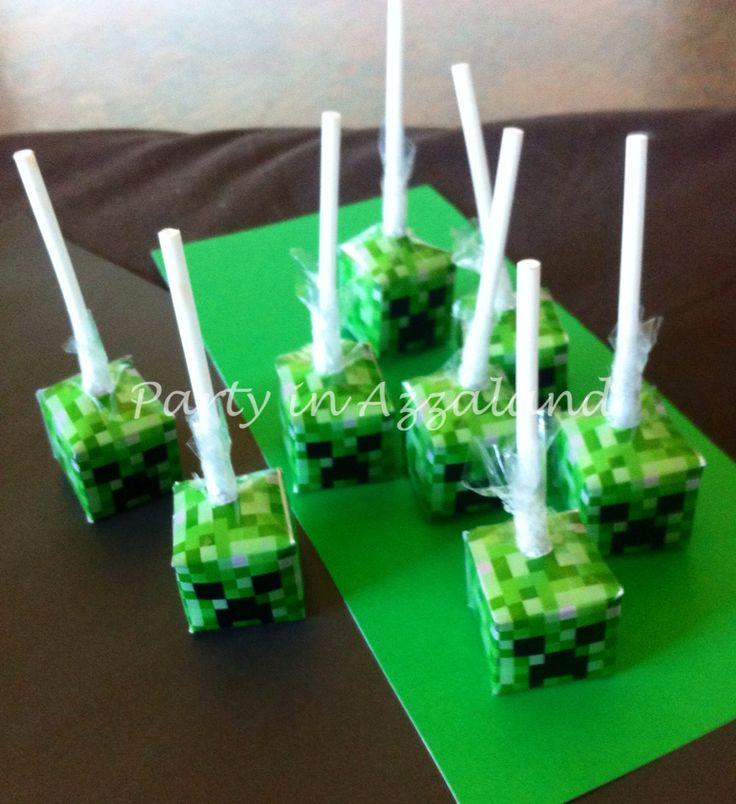 Creeper lolly pops