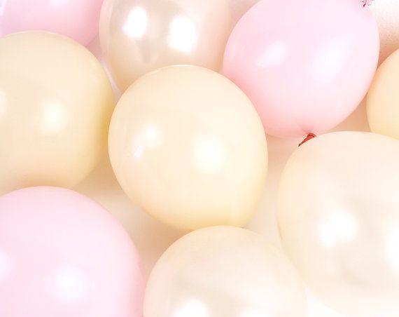 Mini ballons  fard à joues rose Mix  douche de par PaperboyParty