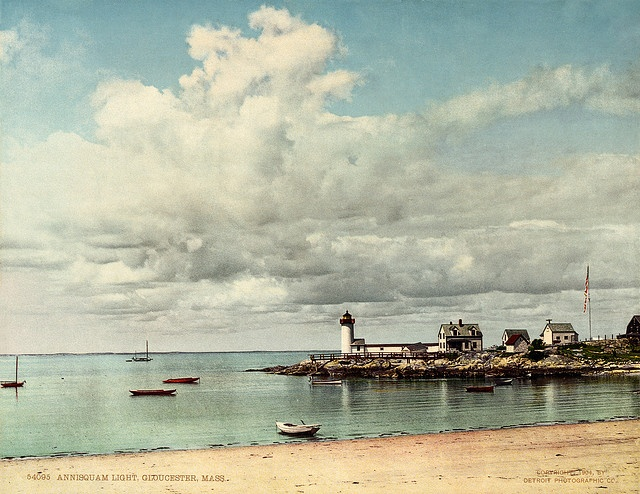 Annisquam Light, Gloucester, Massachusetts, ca. 1904 by trialsanderrors, via Flickr