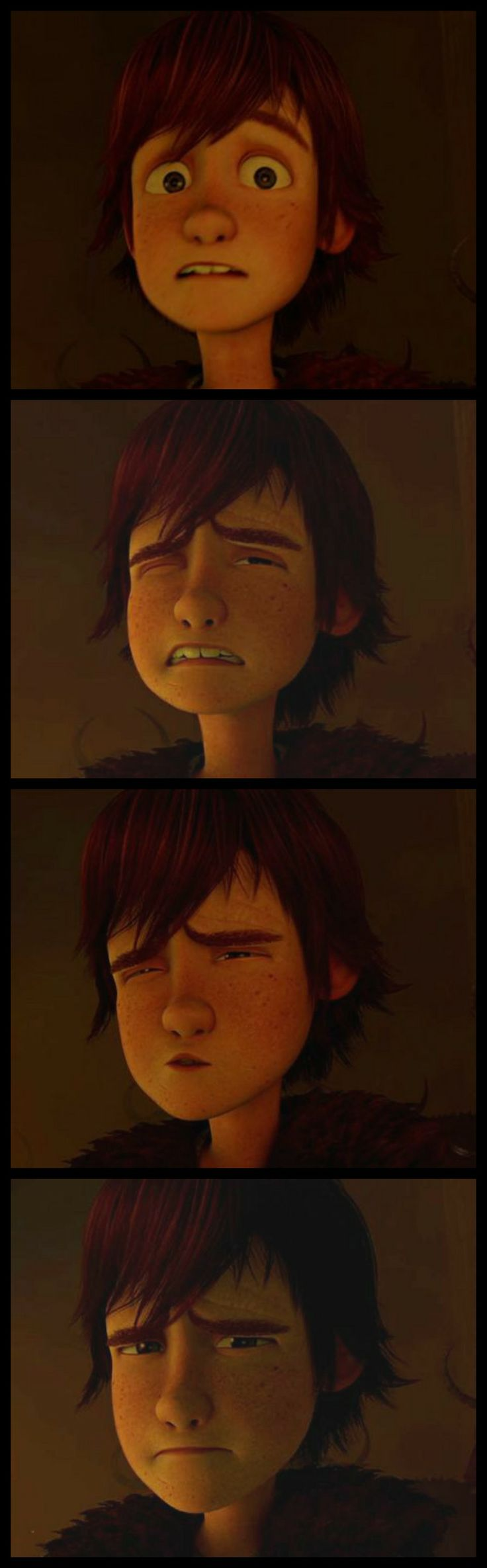 Hahaha! I love this part in HTTYD. And his wincing expressions. XD