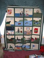 This was my first Newfoundland Quilt. There were a lot of hours spent on that quilt. I was so proud of it once I finished. I felt it was...