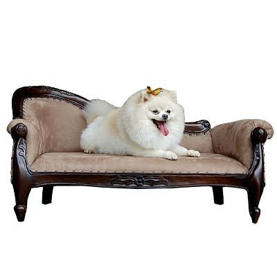 Mahogany Victorian Dog Pet Sofa Bed | eBay