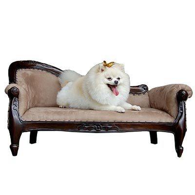 Mahogany Victorian Dog Pet Sofa Bed | eBay